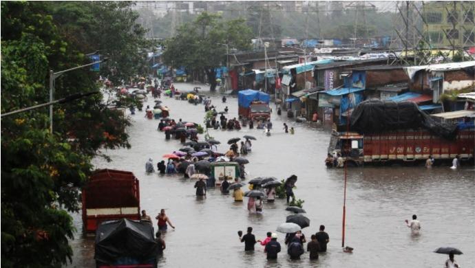 Heavy Rains Cause Tremendous Destruction Across India