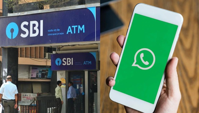 SBI ATM At Your Doorstep On Just A Call Or WhatsApp