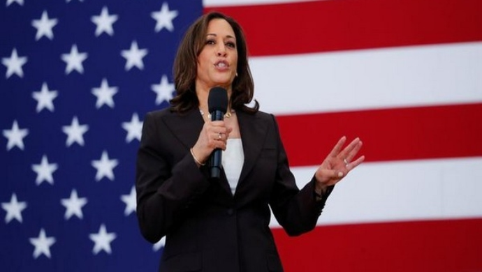 Kamala Harris Talks About Indian-American Community Outreach