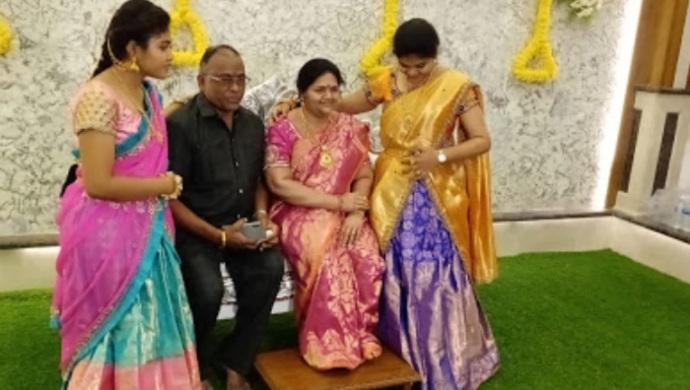 Karnataka Man Creates Late Wife's Wax Statue In Dream House