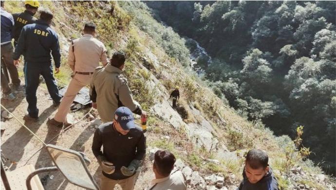1 Dead, 2 Injured After SUV Falls Into Mandakini River Near Kedarnath Highway
