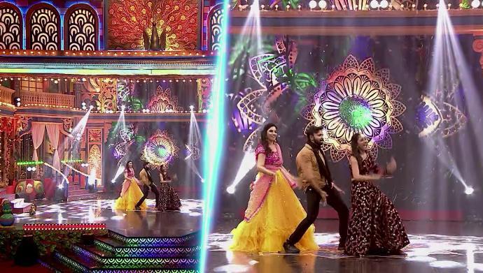 Krish, Sree Priya, Sandra in Krishna Krishna