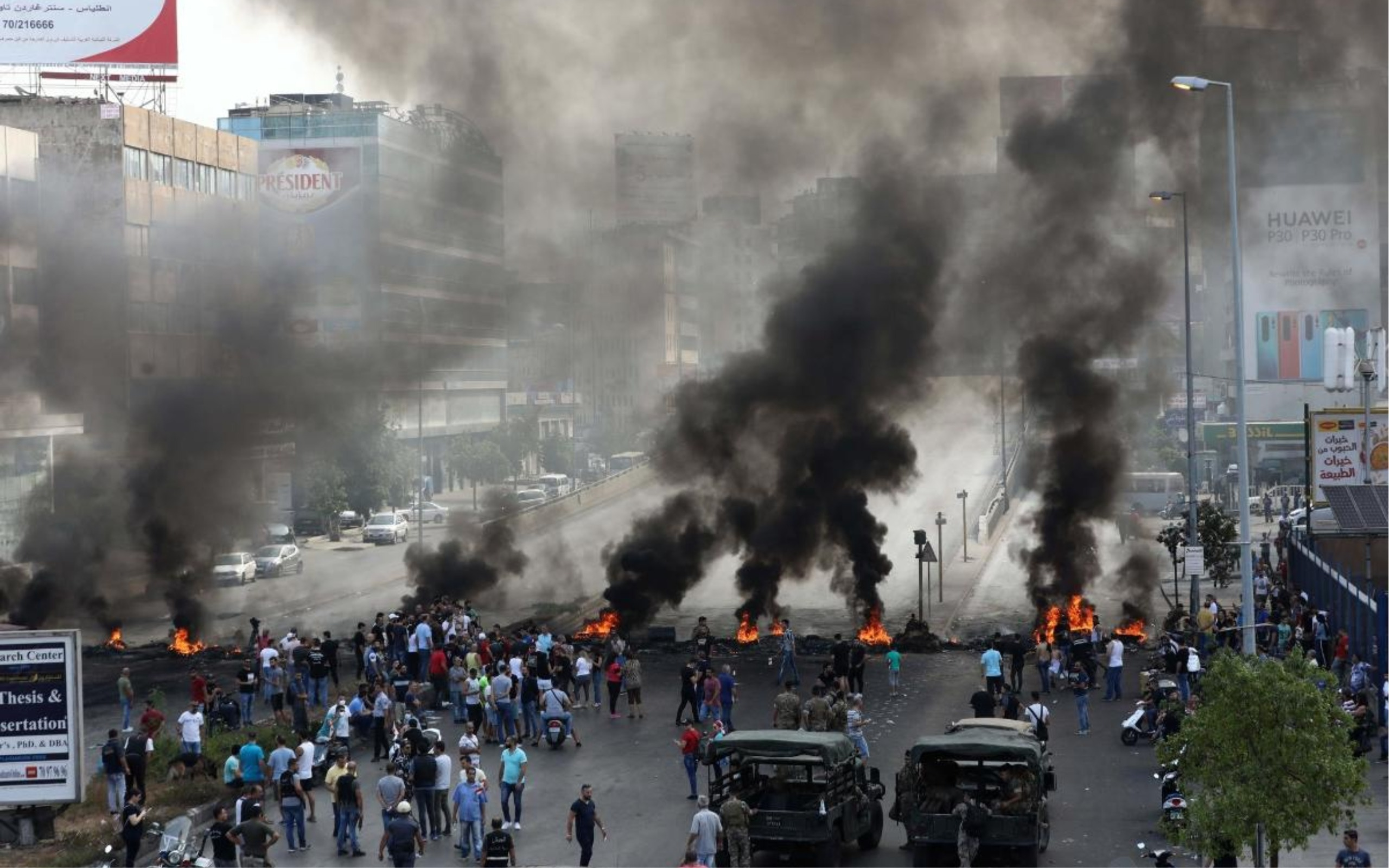 Lebanon Explosion: Government's Negligence Triggers Violent Protests In Beirut
