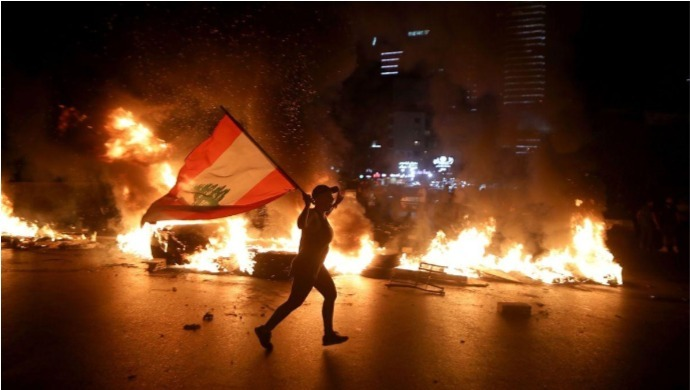 Lebanon Explosion: Anti-Government Protests Resume In Full Swing