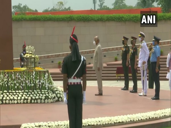 President Kovind pays tribute at National War Memorial on Independence Day