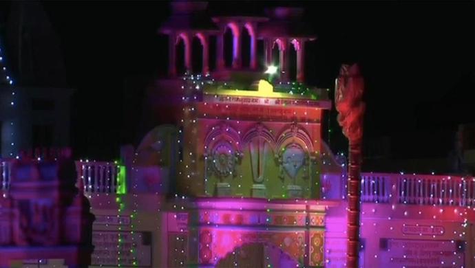 Ayodhya Lit Up Ahead Of Ram Temple Bhoomi Pujan On August 5