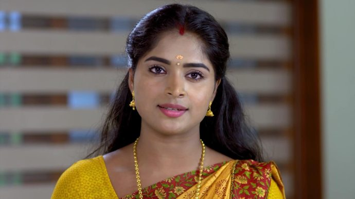 Saptathi complains about Harshan (source:ZEE5)