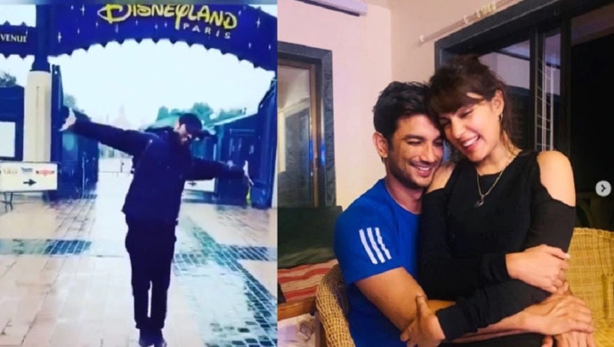 Sushant Singh Rajput Case: Disneyland Video Is Contradictory To Rhea Chakraborty's Claims