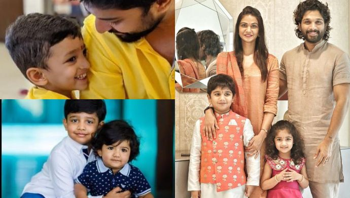 From Allu Arjun's Arha and Ayan, to Mahesh Babu's Gautam and Sitara, these star kids will surely melt your heart!