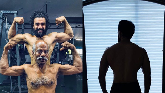 Here's how Tovino Thomas and his father bond over workout! See pictures here