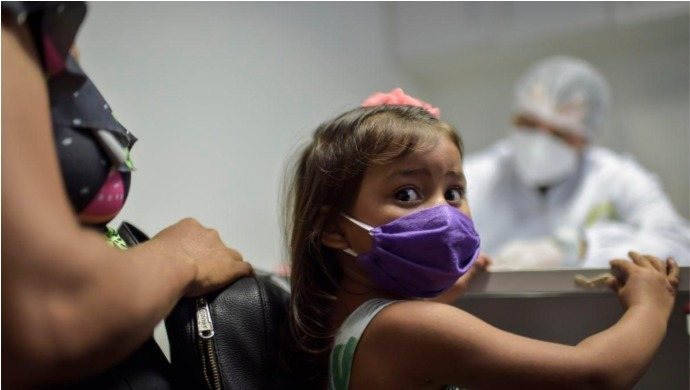US Covid-19 Cases: 97,000 Children Test Positive In Two Weeks