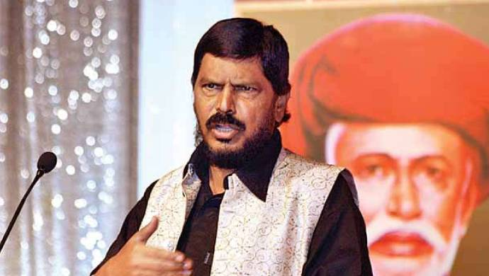 Union Minister Ramdas Athawale Visits Sushant's Family In Faridabad