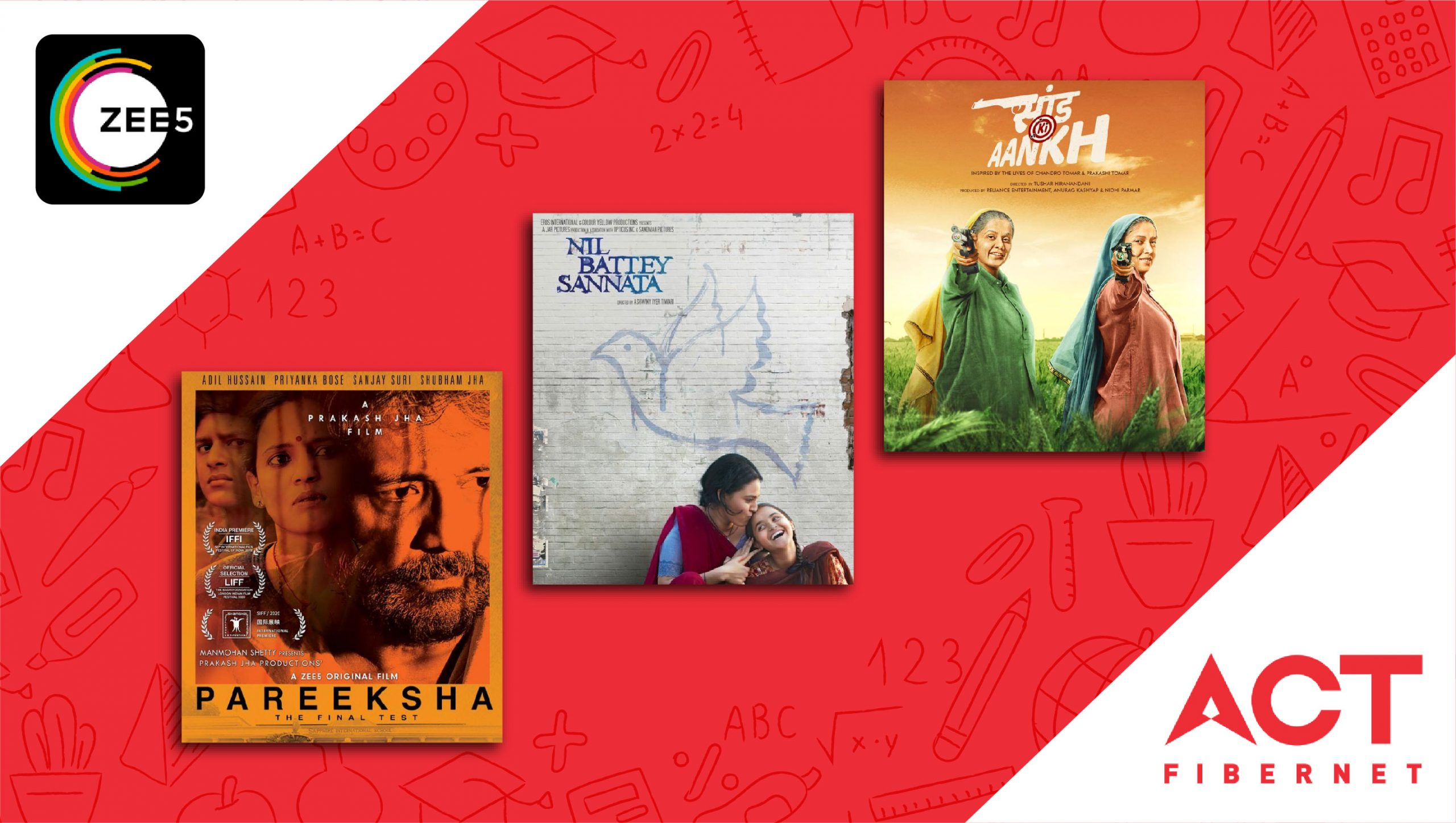 Teacher's Day Special: Nil Battey Sannata, Pareeksha, Kennedy Club – Films You Should Watch On ZEE5 With Your ACT Connection