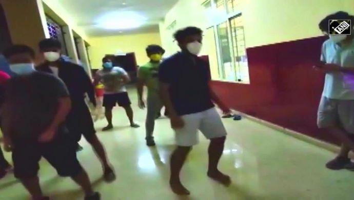 Coronavirus Patients Dance With Doctors In Raipur Hospital