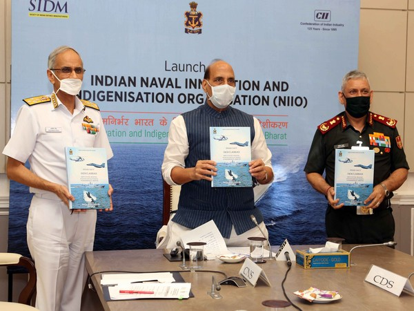 Defence Minister launches Naval Innovation and Indigenisation Organisation