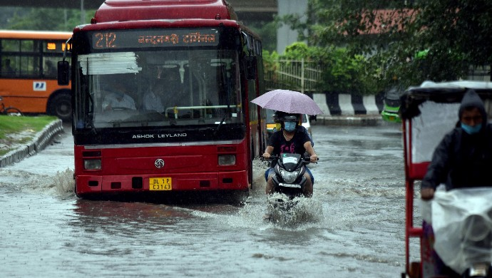 Heavy Waterlogging And Traffic Jams In Delhi-NCR As Rains Continue For Second Day