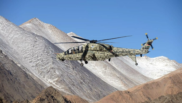 Two Made-In-India Light Combat Helicopters Delivered At LAC In Ladakh