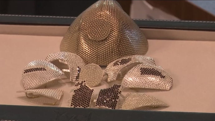 Israeli Jeweller Makes The World Most Expensive Face Mask