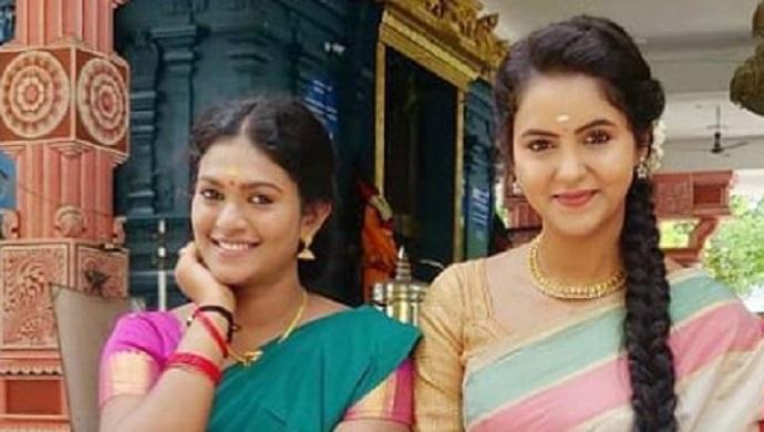 Yaaradi Nee Mohini: Nakshathra Aka Vennila Enjoys Rains With Her BFF Chaitra Reddy Aka Swetha (See Pics)