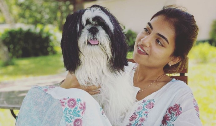 Who is the new friend in actress Nazriya Fahadh's life? See pictures here!