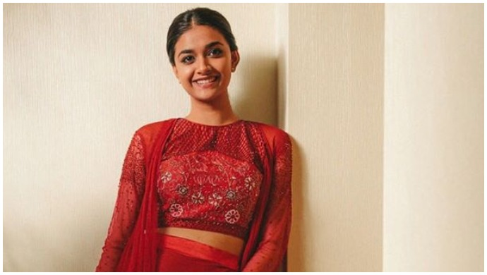 Bairavaa actor Keerthy Suresh flaunts her '6 yards of good vibes' on Pongal; see pictures
