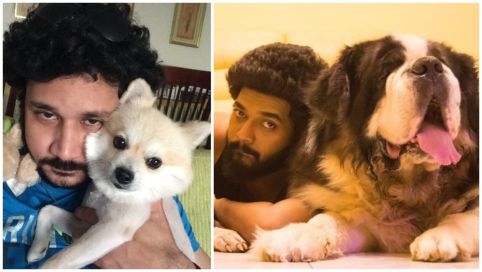 If You're A Dog Lover, You Must Follow Sembaruthi's Karthik Raj, Sathya's Vishnu Vijay And Others On Instagram!