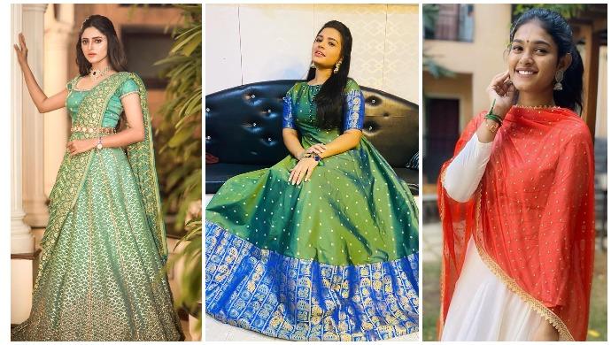 Ganesh Chaturthi 2020: Chaitra Reddy, Dharshana Asokan, Shabana Shajahan – Take Inspiration From These Stylish TV Stars To Nail The Festive Look!