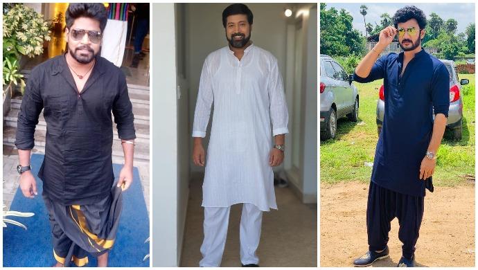 Ganesh Chaturthi 2020: Take Festive Wear Inspiration From Vishnu Vijay, Jai Akash, VJ Kathir