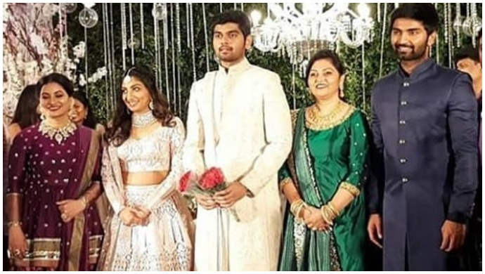 Vijay's Niece Sneha Britto And Actor Atharavaa's Brother Akash Murali Tie The Knot