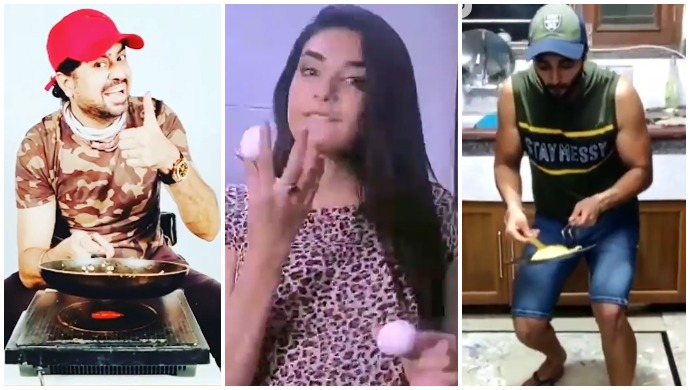 #EggFlipChallenge: Don't Miss These Exciting Videos From Celebs and Fans On HiPi!