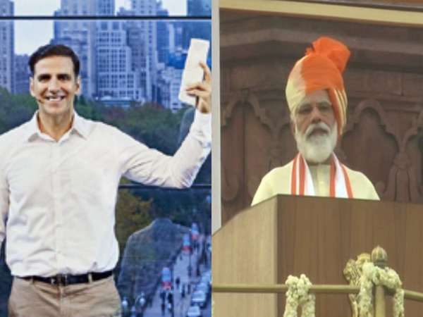 Akshay Kumar lauds PM Modi for making 'menstruation a mainstream topic' during I-day speech