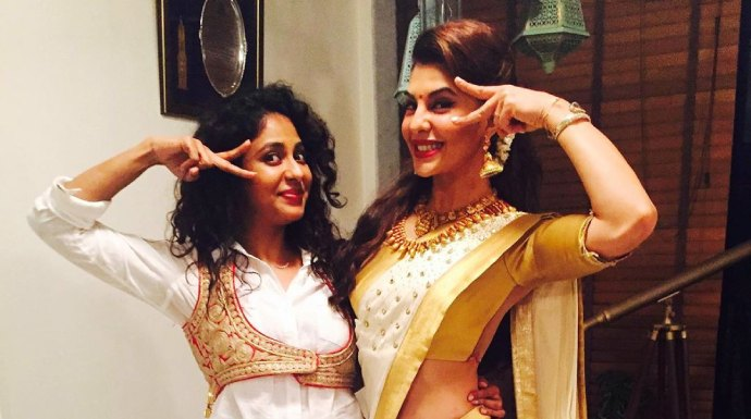 Fashion Friday: Actress Jacqueline Fernandez turns into a Malayali manka! See the pictures here!