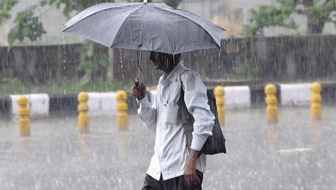 Several Parts Of The Country Under Water Due To Heavy Rains