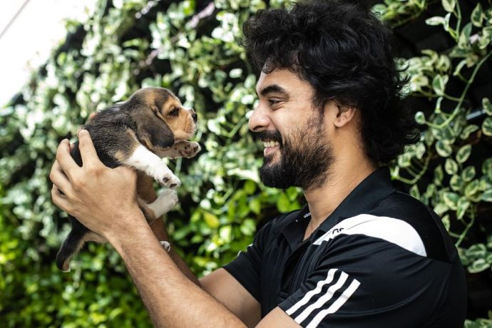 Who is this new furry friend in Tovino Thomas' life? Watch out!