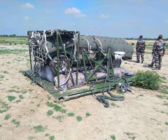 DRDO ने विकसित किया पी-7 हैवी ड्रॉप सिस्टम, 7 टन के भार को विमान से गिरान में सक्षम