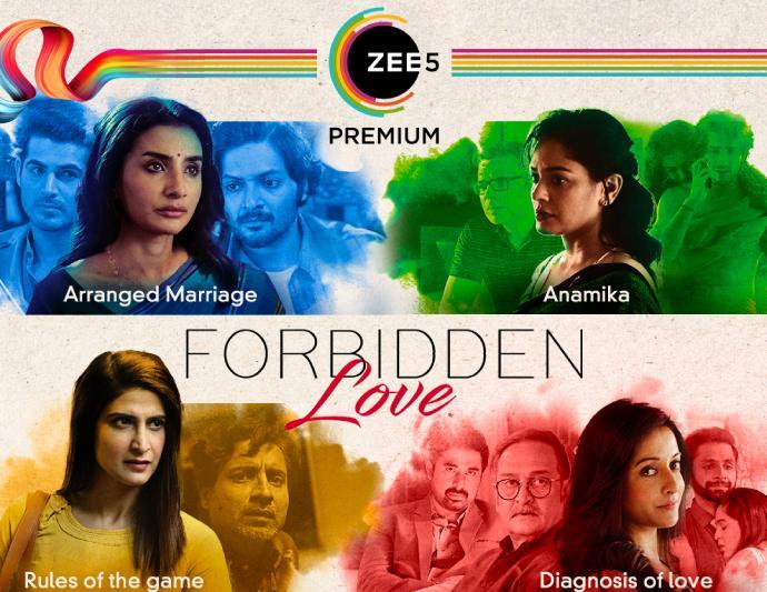 Forbidden Love movie series on ZEE5 (Source:ZEE5)