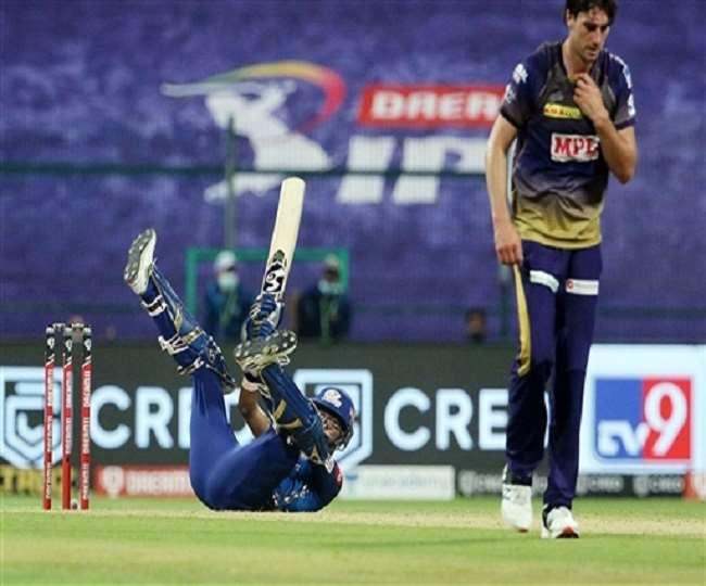IPL 2020: 15.50 करोड़ के गेंदबाज कमिंस ने तीन ओवर में दिए 49 रन, रोहित ने छक्के से किया स्वागत