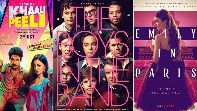 OTT Releases Of The Week: Ishaan Khatter's Khaali Peeli on Zee Plex, Nawazuddin Siddiqui's Serious Men, Jim Parsons' The Boys In The Band, Lily Collins' Emily in Paris on Netflix and More