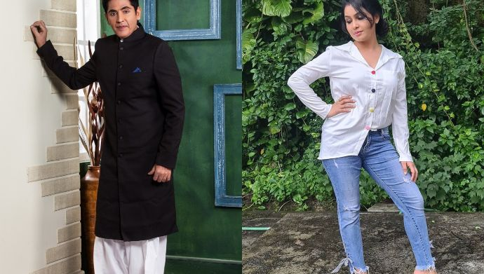 Aasif Sheikh and Shubhangi Atre of Bhabhi Ji Ghar Par Hain show their patriotism on HiPi