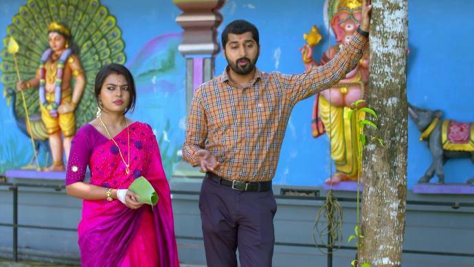 Abhimanyu and Samyuktha continue to argue (source:ZEE5)