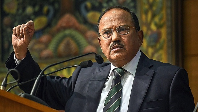 National Security Advisor Ajit Doval Quits SCO Meet After Pakistan Depicts Fictitious Map Of India