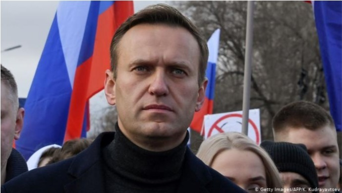 Alexei Navalny's Instagram Video Claims Hotel Room Water Bottle Caused Poisoning