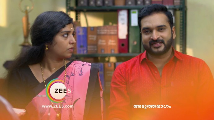 Anand requests the registrar to not put his marriage certificate on teh notice board (source:ZEE5)