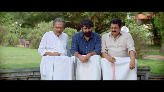 Apappan gets awkward when Hari starts crying (source:ZEE5)