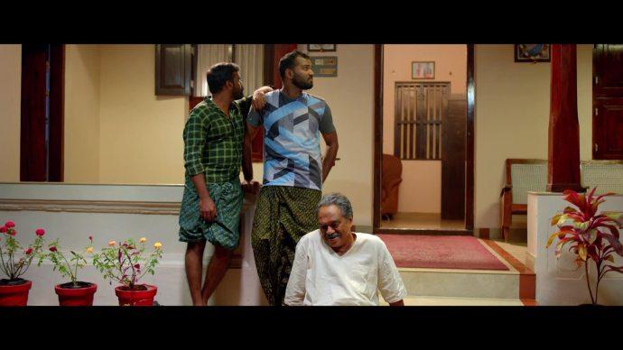 Apappan makes fun of Vijayan (source:ZEE5)
