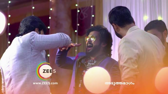 Aravind throws a party for Anand (Source:ZEE5)