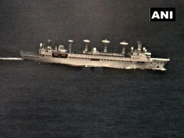 Amid tensions on border, Indian Navy tracks Chinese research vessel in Indian Ocean