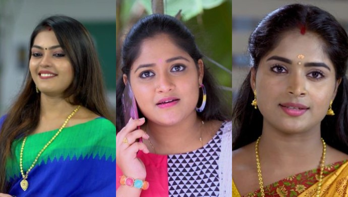 Daughter's Day special: Meet the favourite daughters- Samvrutha, Samyukta and Saptathi from Pookalam Varavayi!