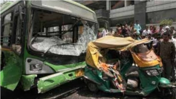 Bus Accident In Delhi Kills Minor Boy And Two Adults; Injures Three