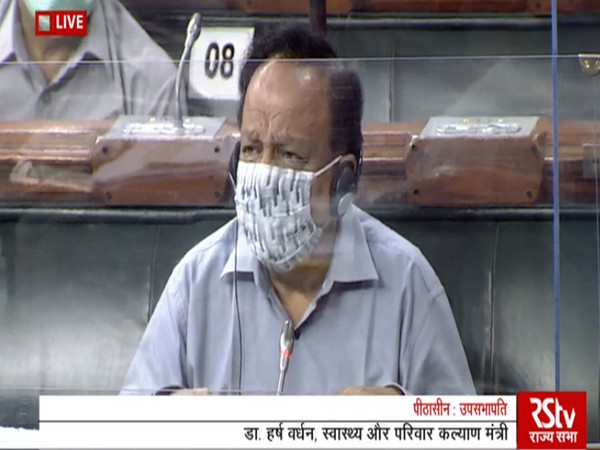 Harsh Vardhan moves Epidemic Diseases, Amendment Bill, 2020 for consideration in RS